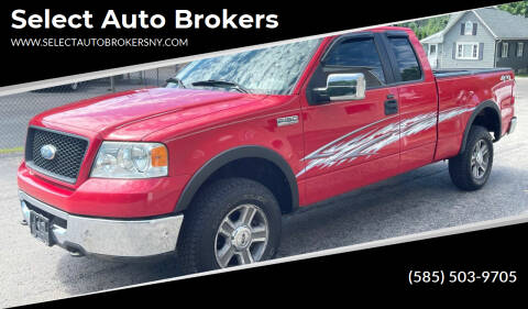 2006 Ford F-150 for sale at Select Auto Brokers in Webster NY
