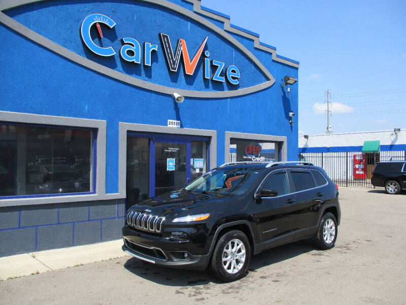 2018 Jeep Cherokee for sale at Carwize in Detroit MI