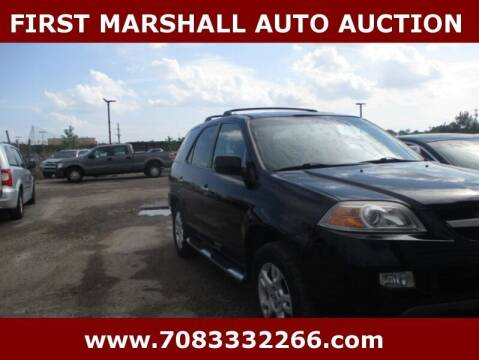 2004 Acura MDX for sale at First Marshall Auto Auction in Harvey IL