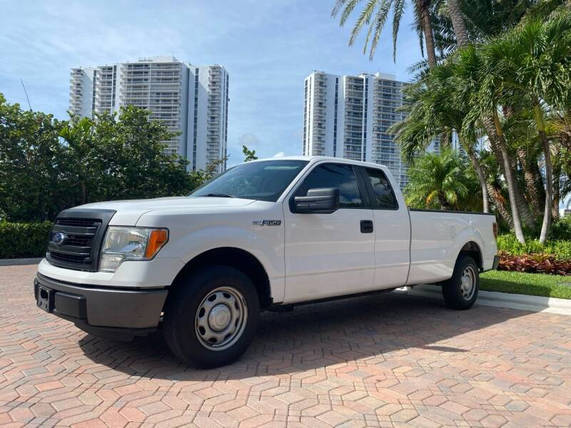 2013 Ford F-150 for sale at HD CARS INC in Hollywood FL