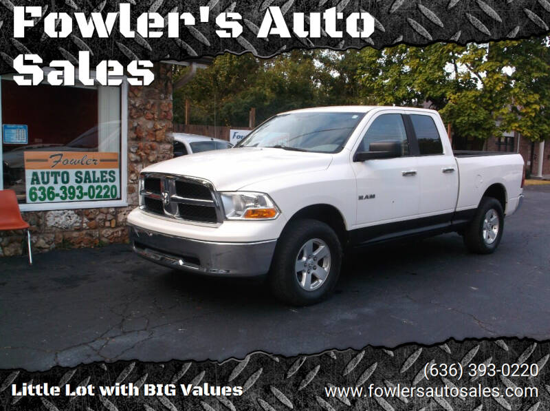 2009 Dodge Ram Pickup 1500 for sale at Fowler's Auto Sales in Pacific MO