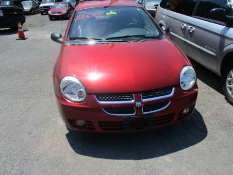 2003 Dodge Neon for sale at FERNWOOD AUTO SALES in Nicholson PA