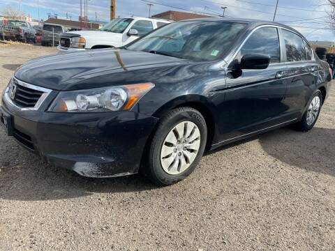 2010 Honda Accord for sale at Martinez Cars, Inc. in Lakewood CO