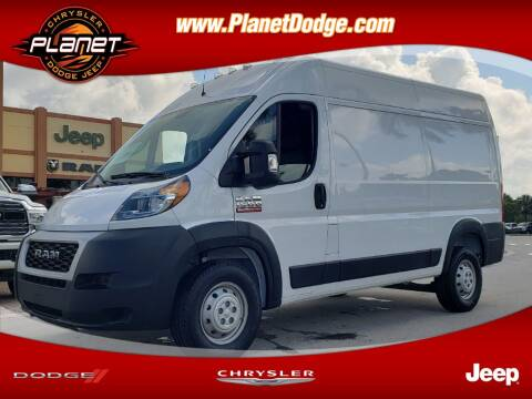 2019 RAM ProMaster Cargo for sale at PLANET DODGE CHRYSLER JEEP in Miami FL