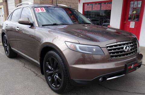 2008 Infiniti FX45 for sale at VISTA AUTO SALES in Longmont CO