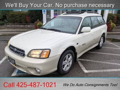 2004 Subaru Outback for sale at Platinum Autos in Woodinville WA