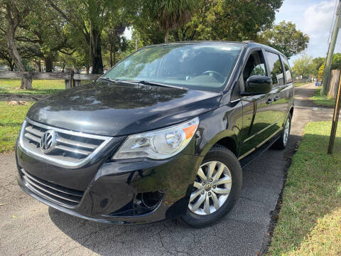 2012 Volkswagen Routan for sale at LESS PRICE AUTO BROKER in Hollywood FL