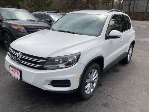 2015 Volkswagen Tiguan for sale at Louisburg Garage, Inc. in Cuba City WI