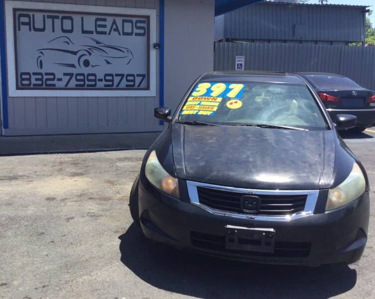 2009 Honda Accord for sale at AUTO LEADS in Pasadena TX