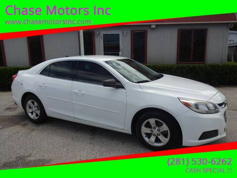 2014 Chevrolet Malibu for sale at Chase Motors Inc in Stafford TX