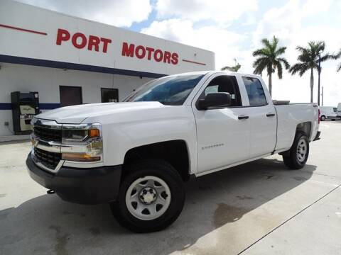 2018 Chevrolet Silverado 1500 for sale at Port Motors in West Palm Beach FL