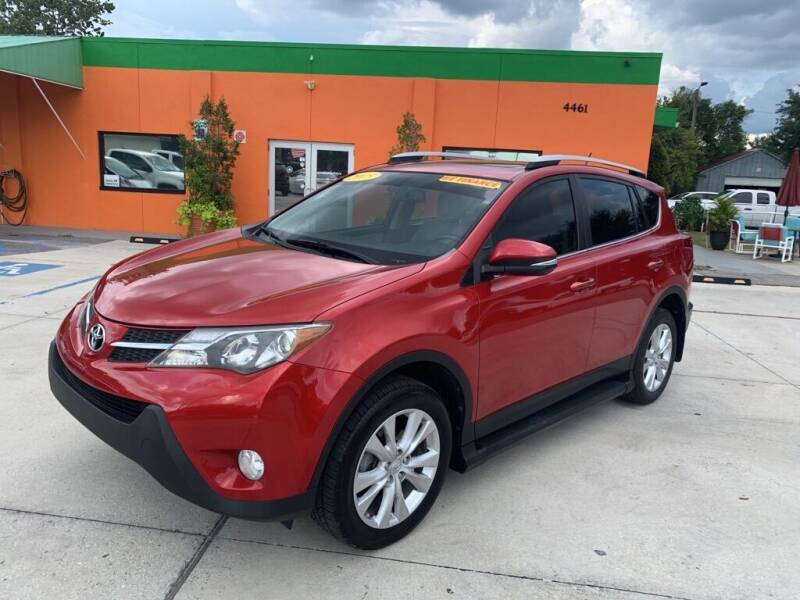 2015 Toyota RAV4 for sale at Galaxy Auto Service, Inc. in Orlando FL