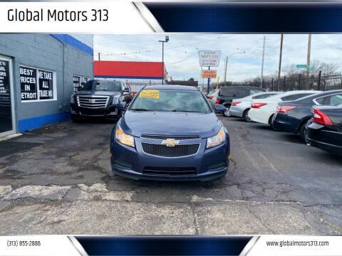 2013 Chevrolet Cruze for sale at Global Motors 313 in Detroit MI