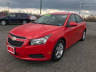2014 Chevrolet Cruze for sale at FUSION AUTO SALES in Spencerport NY