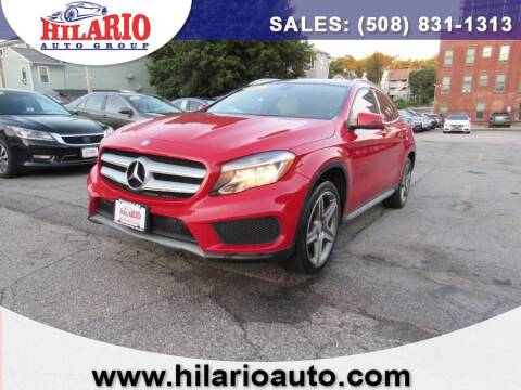 2015 Mercedes-Benz GLA for sale at Hilario's Auto Sales in Worcester MA
