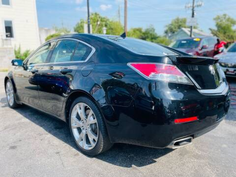 2013 Acura TL for sale at H & H Motors 2 LLC in Baltimore MD