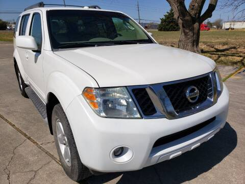 2008 Nissan Pathfinder for sale at ATCO Trading Company in Houston TX