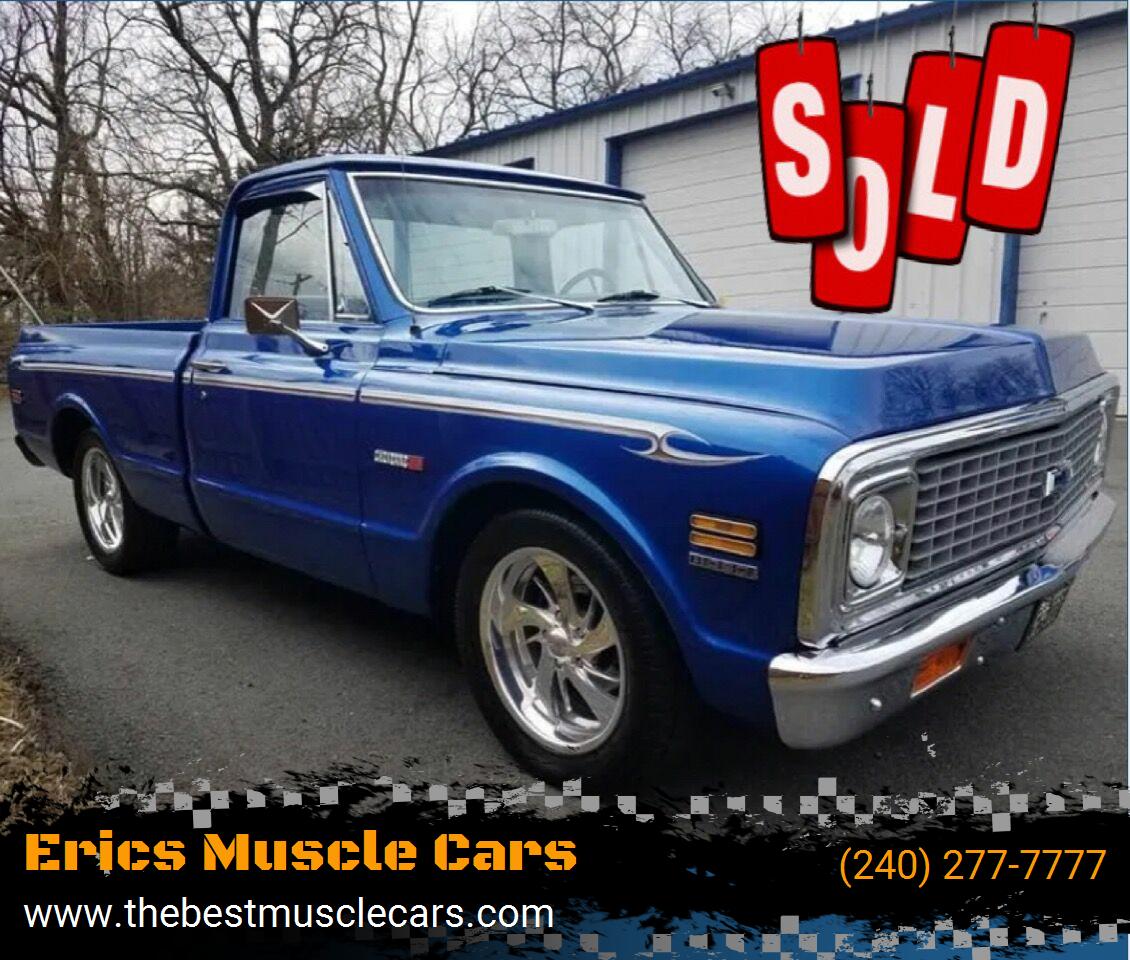 1971 Chevrolet Cheyenne SOLD SOLD SOLD