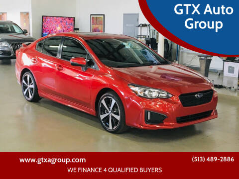 2017 Subaru Impreza for sale at GTX Auto Group in West Chester OH