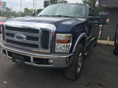 2008 Ford F-250 Super Duty for sale at Texas Luxury Auto in Houston TX