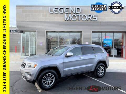 2014 Jeep Grand Cherokee for sale at Legend Motors of Waterford in Waterford MI