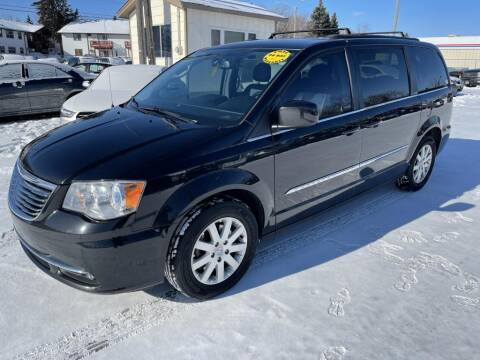 2014 Chrysler Town and Country for sale at CHRISTIAN AUTO SALES in Anoka MN