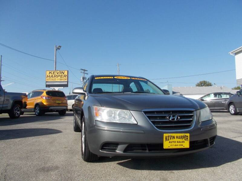 2009 Hyundai Sonata for sale at Kevin Harper Auto Sales in Mount Zion IL