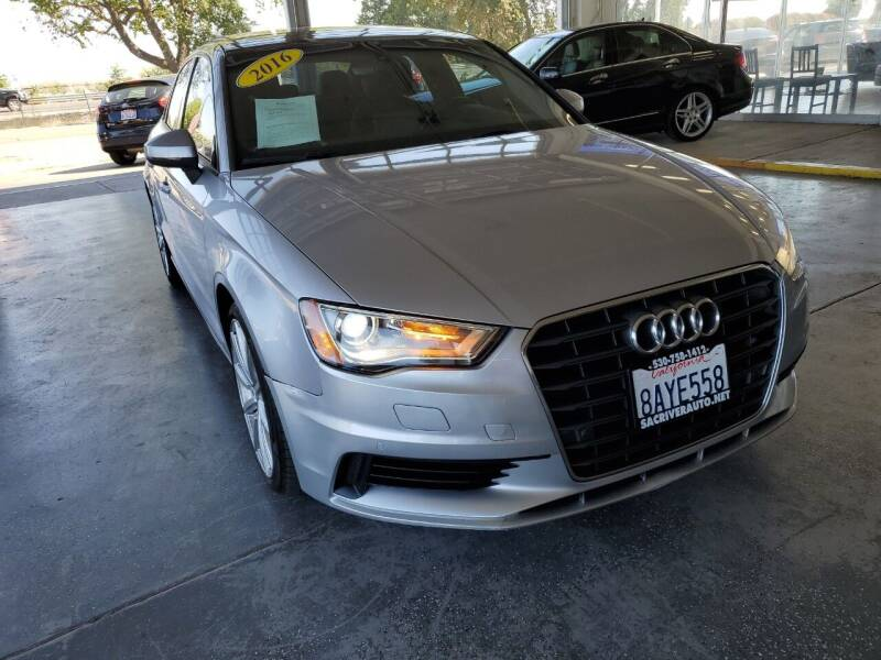 2016 Audi A3 for sale at Sac River Auto in Davis CA