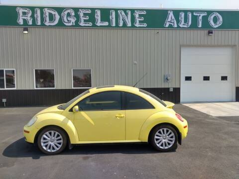 2008 Volkswagen New Beetle for sale at RIDGELINE AUTO in Chubbuck ID
