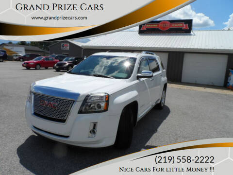 2013 GMC Terrain for sale at Grand Prize Cars in Cedar Lake IN