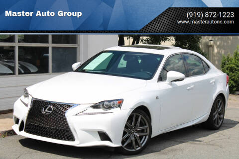 2014 Lexus IS 250 for sale at Master Auto Group in Raleigh NC