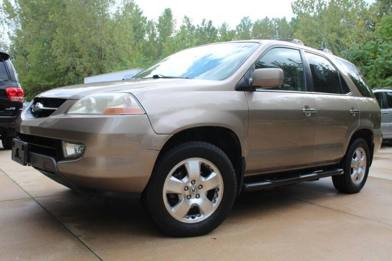 2003 Acura MDX for sale at CHIPPERS LUXURY AUTO, INC in Shorewood IL