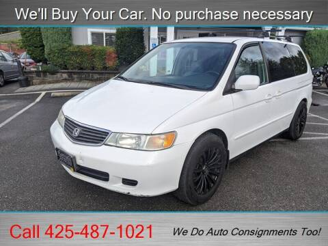 2000 Honda Odyssey for sale at Platinum Autos in Woodinville WA