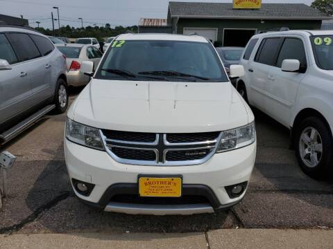 2012 Dodge Journey for sale at Brothers Used Cars Inc in Sioux City IA