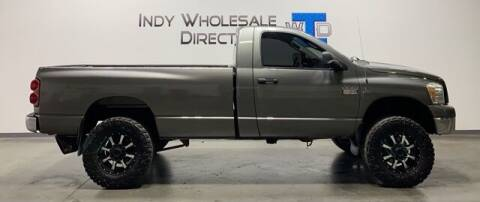 2007 Dodge Ram Pickup 2500 for sale at Indy Wholesale Direct in Carmel IN