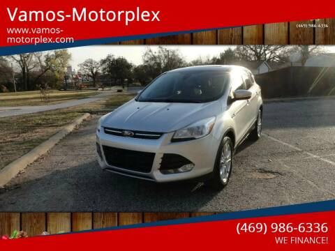 2013 Ford Escape for sale at Vamos-Motorplex in Lewisville TX
