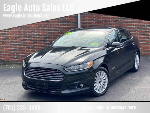 2013 Ford Fusion Hybrid for sale at Eagle Auto Sales LLC in Holbrook MA