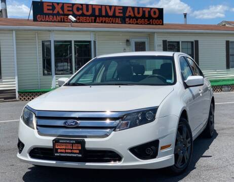 2011 Ford Fusion for sale at Executive Auto in Winchester VA
