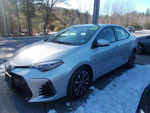 2017 Toyota Corolla for sale at Manchester Motorsports in Goffstown NH