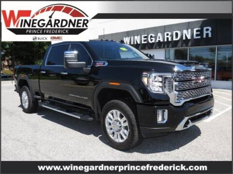 2020 GMC Sierra 2500HD for sale at Winegardner Auto Sales in Prince Frederick MD