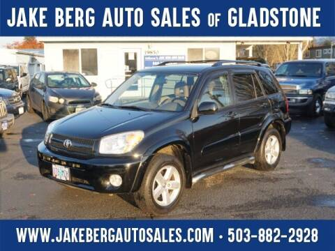 2005 Toyota RAV4 for sale at Jake Berg Auto Sales in Gladstone OR