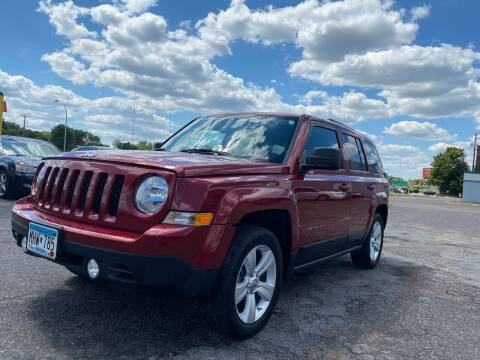 2012 Jeep Patriot for sale at Auto Tech Car Sales and Leasing in Saint Paul MN
