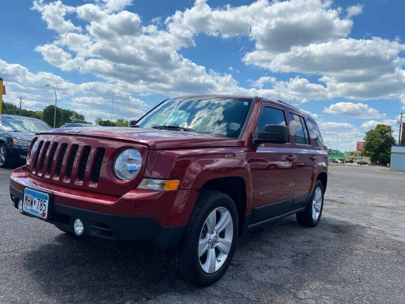 2012 Jeep Patriot for sale at Auto Tech Car Sales in Saint Paul MN