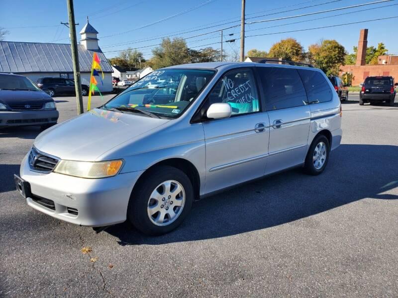 2004 Honda Odyssey for sale at Boris Auto Sales & Repairs in Harrisonburg VA