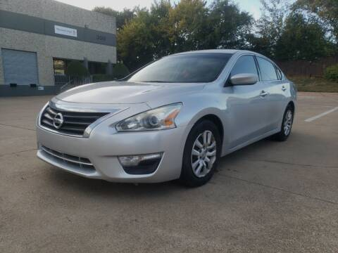 2015 Nissan Altima for sale at ZNM Motors in Irving TX