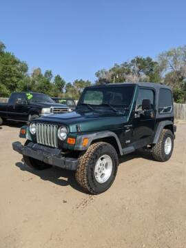2001 Jeep Wrangler for sale at HORSEPOWER AUTO BROKERS in Fort Collins CO