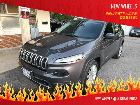 2016 Jeep Cherokee for sale at New Wheels in Glendale Heights IL