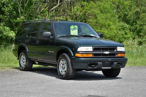 2002 Chevrolet Blazer for sale at Car Wash Cars Inc in Glenmont NY