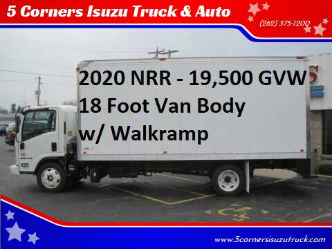 2020 Isuzu NRR for sale at 5 Corners Isuzu Truck & Auto in Cedarburg WI