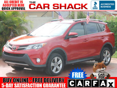 2015 Toyota RAV4 for sale at The Car Shack in Hialeah FL